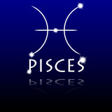 Signs of the zodiac. Pisces