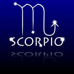 Signs of the zodiac. Scorpio