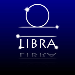 Signs of the zodiac. Libra