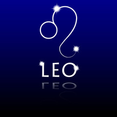 Signs of the zodiac. Leo