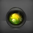 Lens, icon
