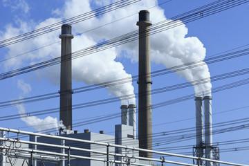 Power plant in Rotterdam, Maasvlakte