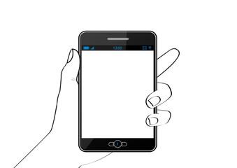 Phablet noire [smartphone et tablette] - Téléphonie