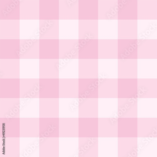 Poster Seamless pink background vector checkered pattern grid texture