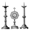 Christianity : Ritual Objects - Goldsmith's trade - Orfèvrerie