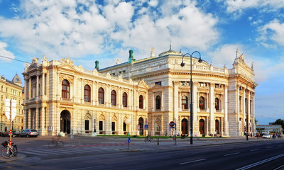 Vienna - Burgtheater is the Austrian National Theatre