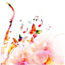 Música de fondo abstracto