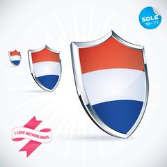 I Love Netherlands Flag Illustration, Sign, Symbol