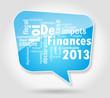 Bulle : Loi de Finances 2013