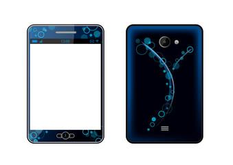 Phablet bleu [smartphone et tablette] - AV et AR - Téléphonie