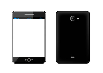 Phablet noire [smartphone et tablette] - AV et AR - Téléphonie