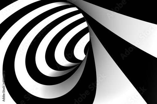 3D Abstract Spiral © loewe34