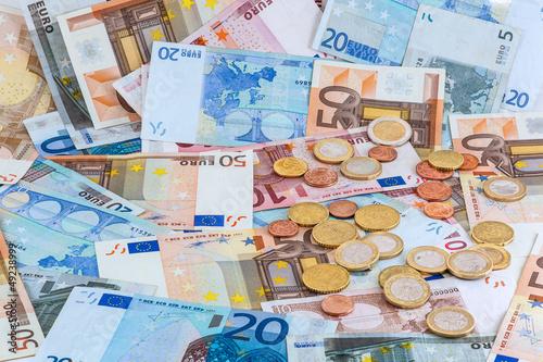 Euro Hintergund