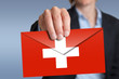 Schweizer Briefumschlag