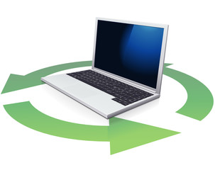 Laptop and recycling