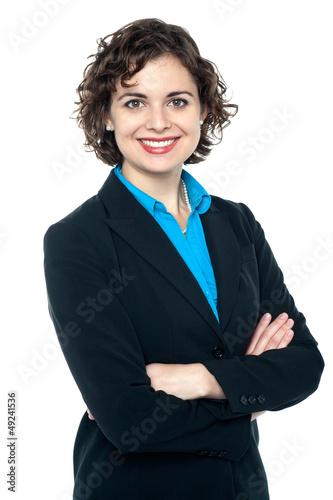 Portrait of a confident business lady
