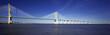 panoramic view of famous Vasco da Gama bridge