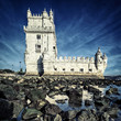 famous Tower of Belem