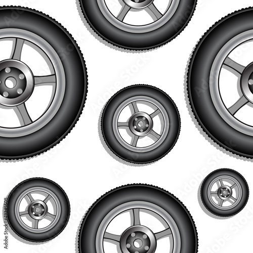 wheels pattern
