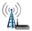 Wireless Router tower