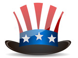 US Top Hat Uncle Sam