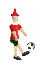 pinocchio football