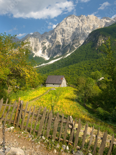 Valbona Valley In Albanian Alps