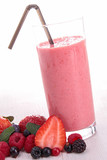berries fruits smoothie