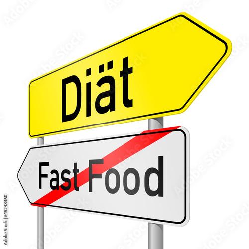 schild lr fast food diät I
