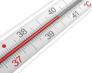 Fieberthermometer Detail