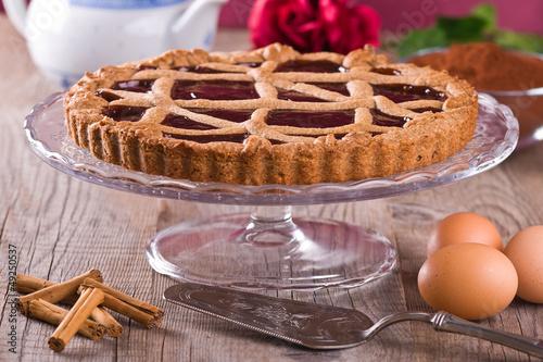 Linzer torte.