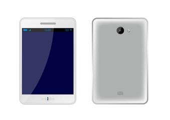 Phablet gris [smartphone et tablette] - AV et AR - Téléphonie
