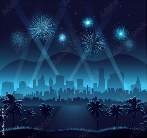 Hollywood movie premiere background celebration eps 10 - 49252731
