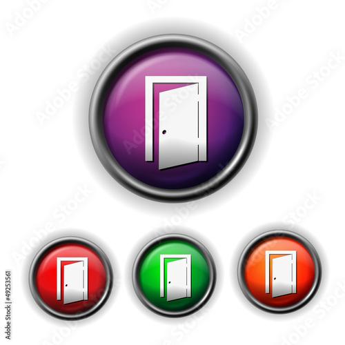 exit door icon
