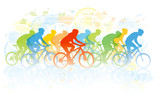 Fototapety Bike race