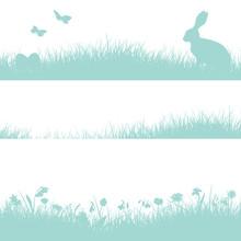 3 Wielkanoc Meadow Header Retro