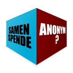 wuerfel v4 samenspende anonym? I