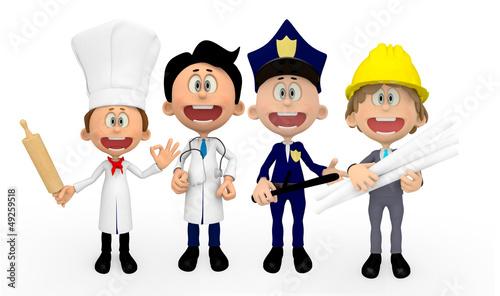 3D professions
