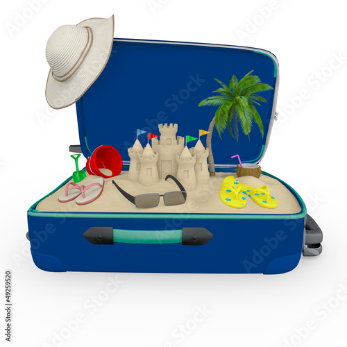 3D travel bag