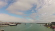 Time lapse of John's Pass on Florida's Gulf Coast.