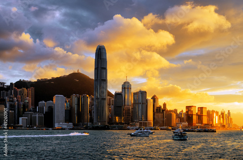 Fotobehang Aziatische Plekken Hong Kong