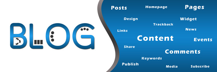 Blog Banner with Keywords