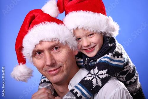 2 Weihnachtsmänner