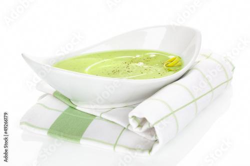 Traditional pea soup.