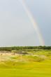 rainbow over the golf course, St Andrews, Fife, Scotland
