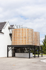 Dalwhinni Distillery, Inverness-shire, Scotland