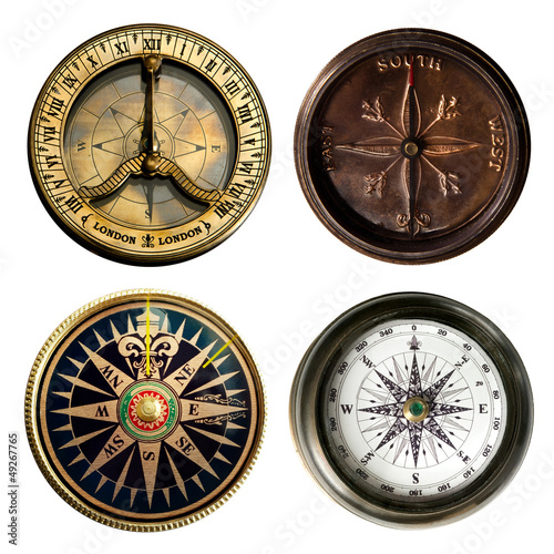 old compass collection