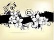 Fototapete Vektor - Mustern - Blume