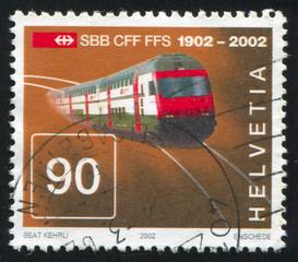 Intercity doubledeck train