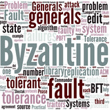 Byzantine fault tolerance Concept poster